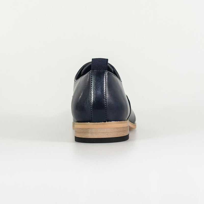 Carlotta Navy Shoes - Shoes - - ThreadPepper