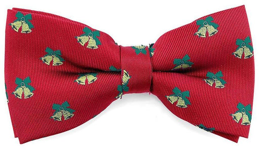 Christmas Bells Novelty Bow Tie - Bow Ties - - ThreadPepper