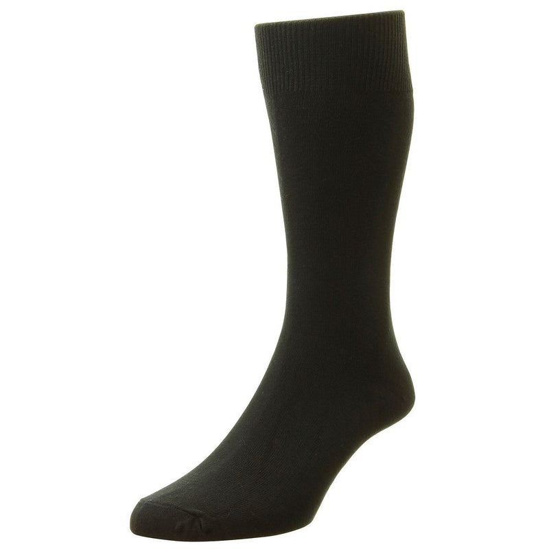Classic Cotton Socks - Socks - Black - ThreadPepper