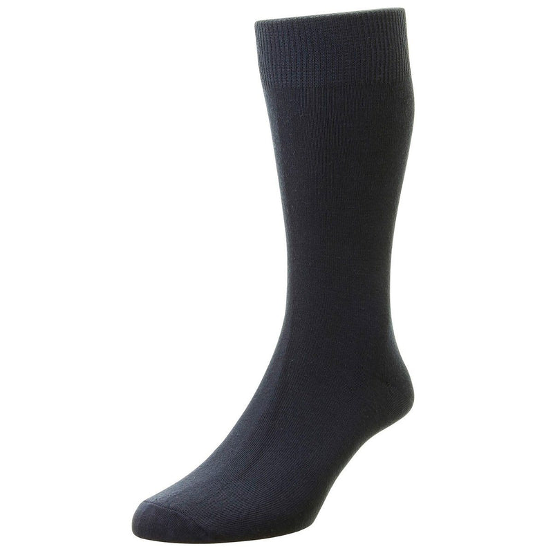 Classic Cotton Socks - Socks - Navy - ThreadPepper