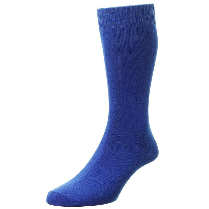 Classic Cotton Socks - Socks - Royal - ThreadPepper