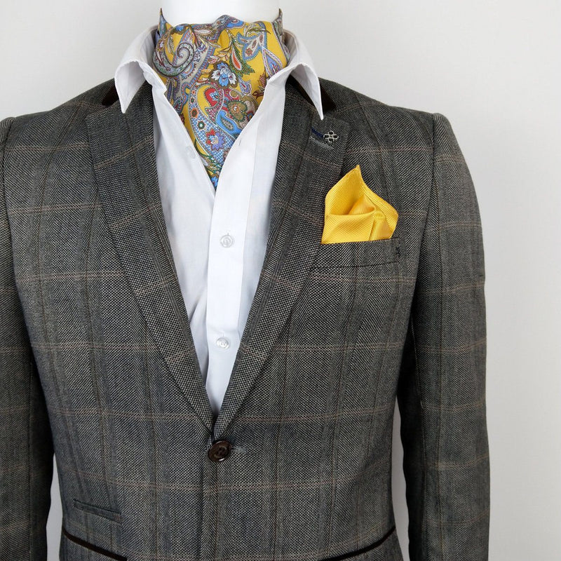 Connall Brown Tweed Blazer - Blazers - - ThreadPepper