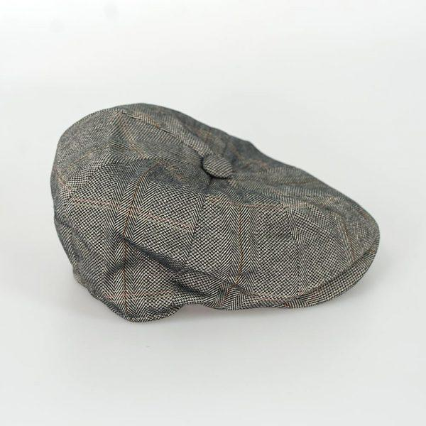 Connell Tweed 8 Panel Baker Boy Cap - Available in 3 colours - Hats - - ThreadPepper