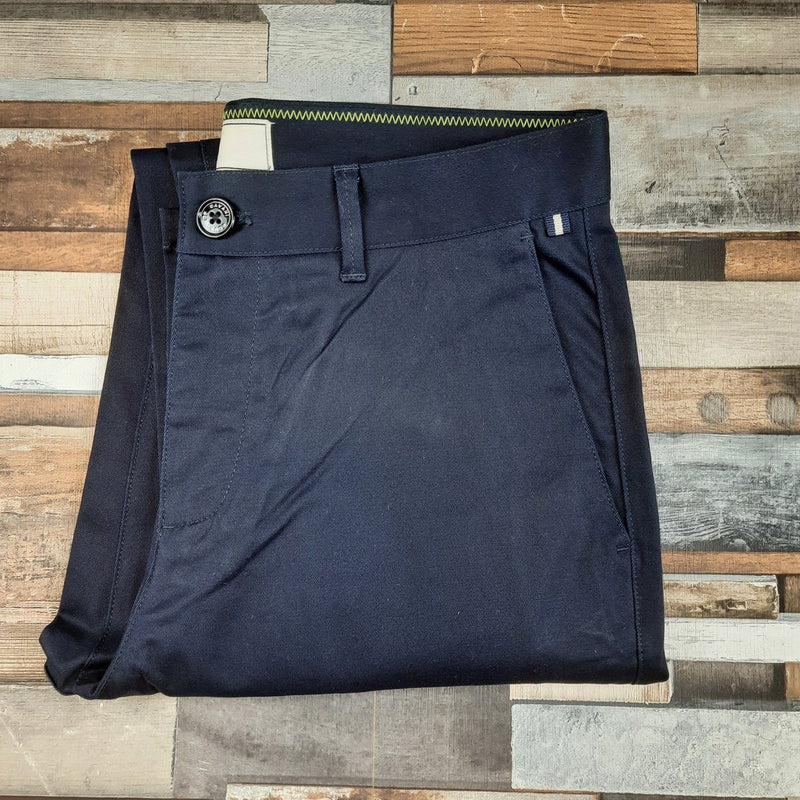 Dakota Navy Chinos - Chinos - - ThreadPepper