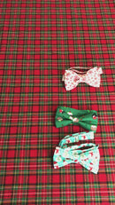 Round Robin Green Christmas Ready-Tied Bow Tie