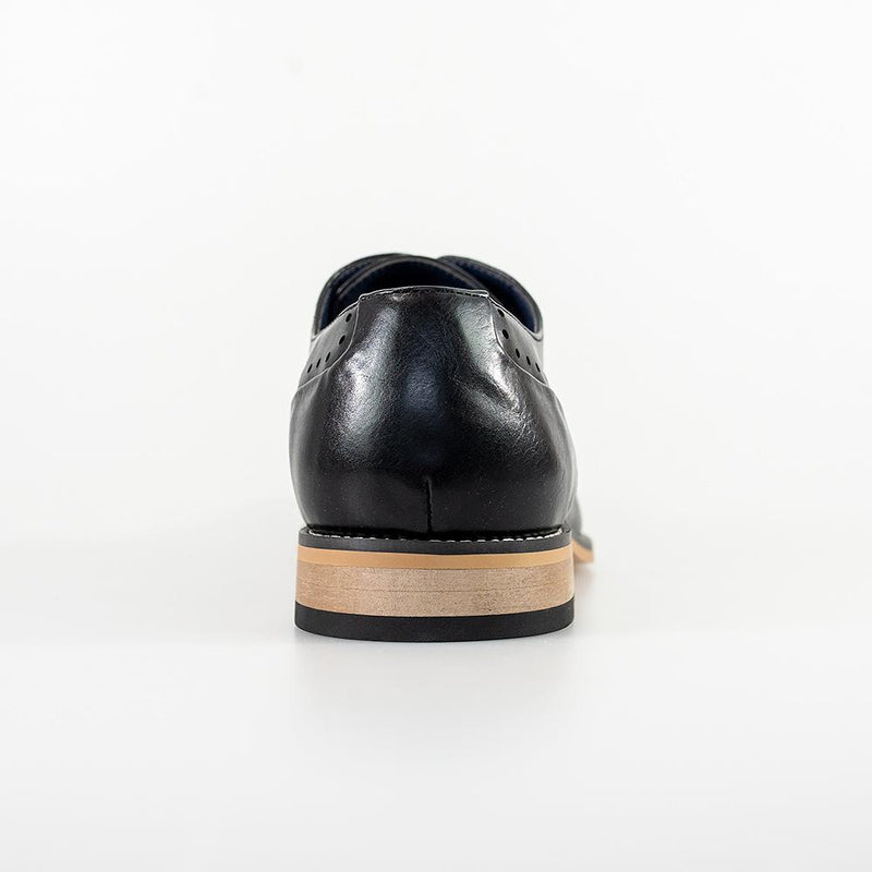 Fabian Black Shoes - Shoes - - ThreadPepper
