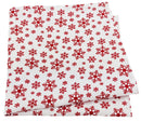 Falling Snowflakes Christmas Pocket Square - Handkerchiefs - - ThreadPepper
