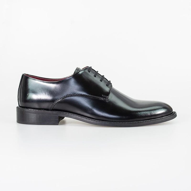 Foxton Black Shoes - Shoes - - ThreadPepper
