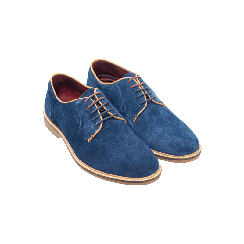 Gobi Navy Suede Shoes - Footwear - - ThreadPepper