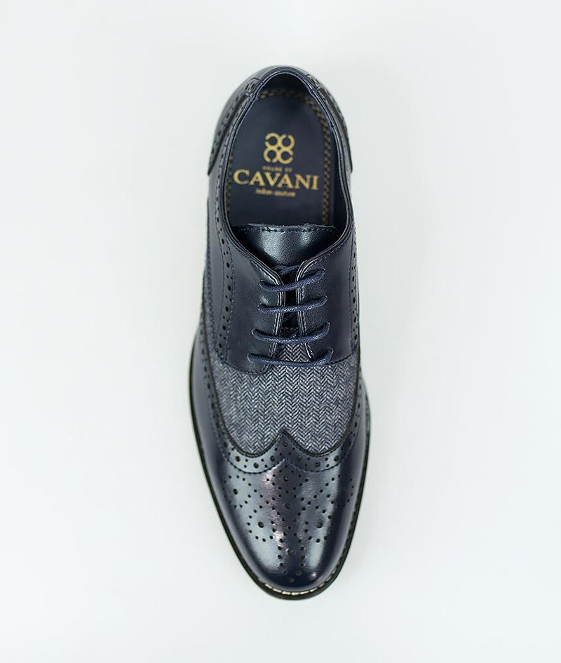 Horatio Navy Shoes - Shoes - - ThreadPepper