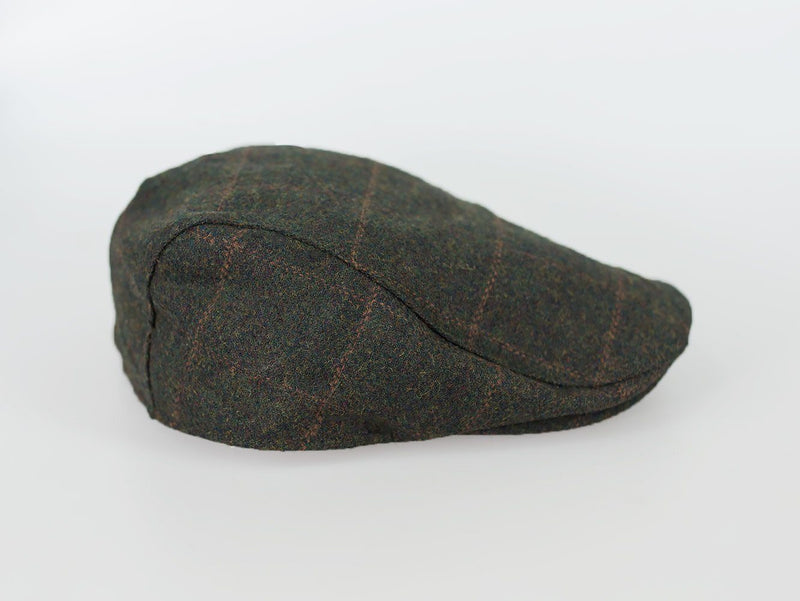 Kemson Tweed Flat Cap - Available in 2 Colours - Hats - - ThreadPepper