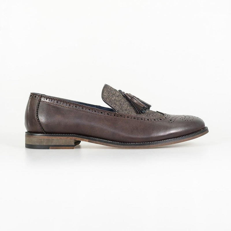 Lucius Brown Loafer - Shoes - - ThreadPepper