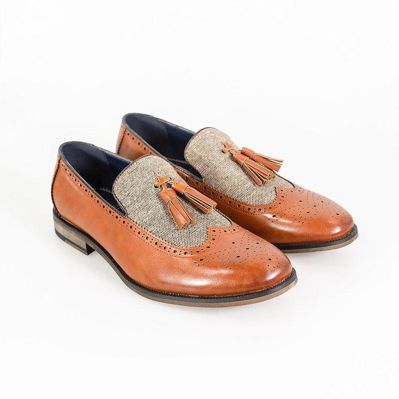 Lucius Tan Loafer - Shoes - 7 - ThreadPepper