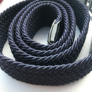 Navy Woven Belt - - - ThreadPepper