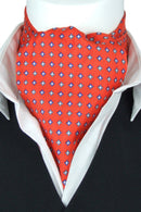 Orville Red All Silk Cravat - Cravats - - ThreadPepper