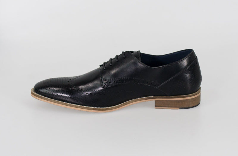 Rome Black Shoes - Footwear - - ThreadPepper