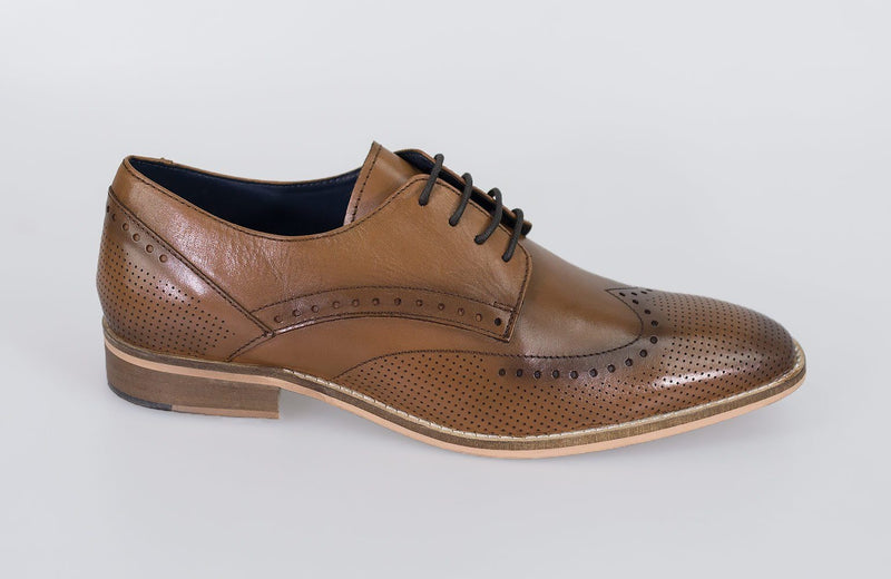 Rome Tan Shoes - Shoes - - ThreadPepper