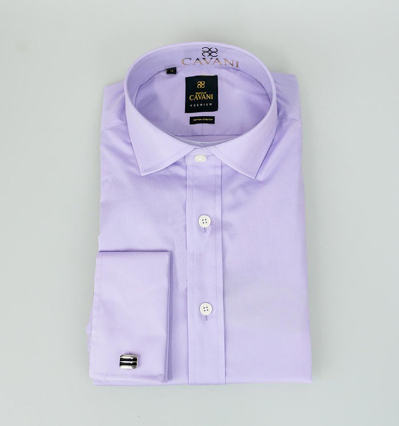 Rossi Lilac Shirt - Shirts - 14.5 - ThreadPepper