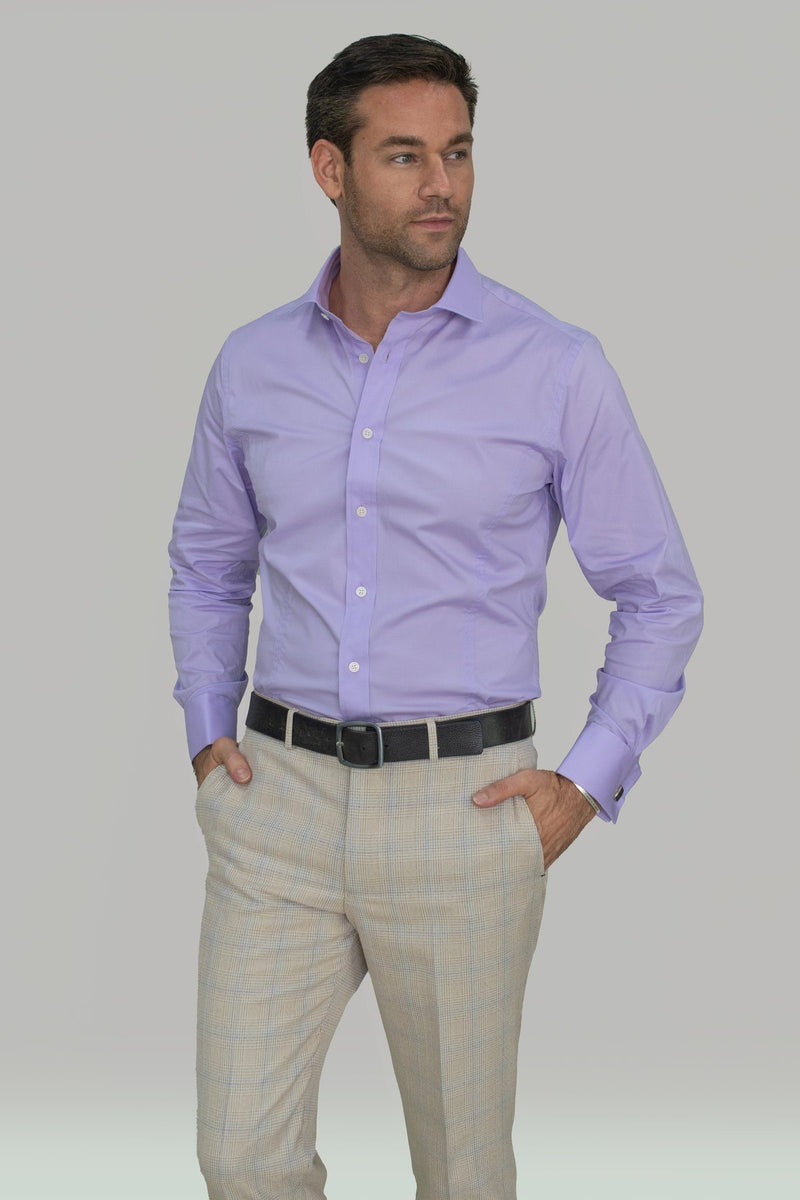 Rossi Lilac Shirt - Shirts - - ThreadPepper