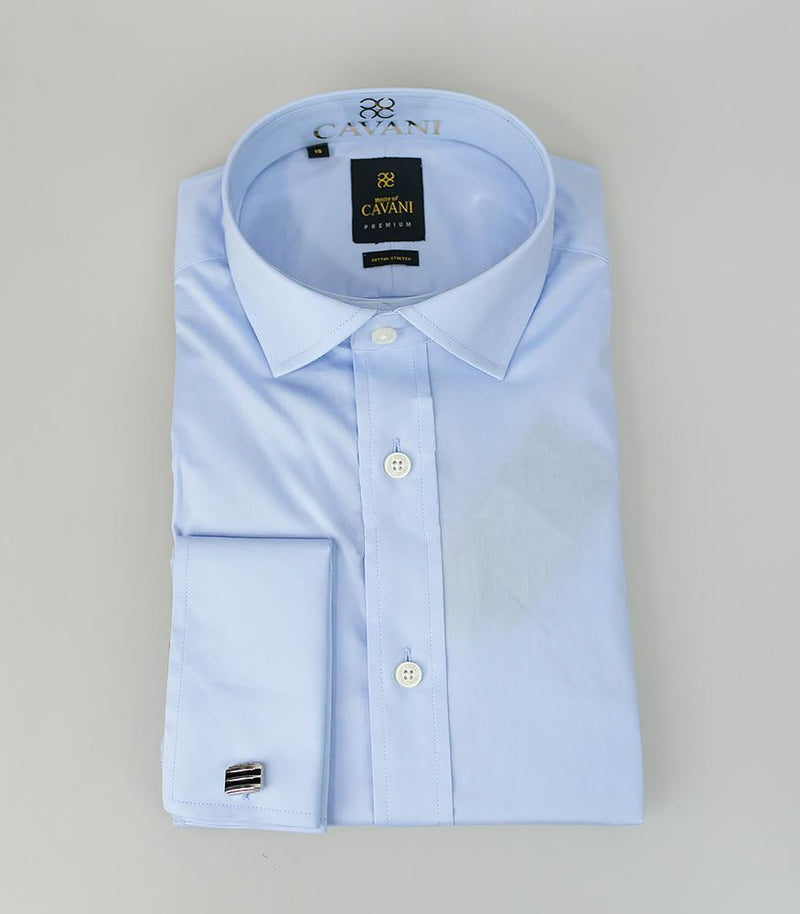 Rossi Sky Shirt - Shirts - 14.5 - ThreadPepper