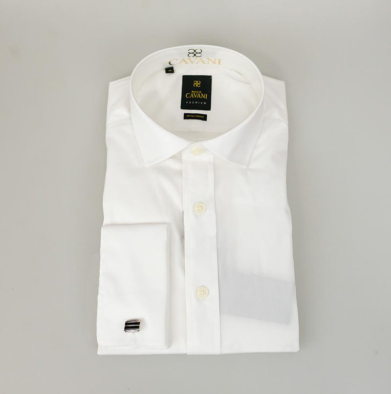 Rossi White Shirt - Shirts - 14.5 - ThreadPepper