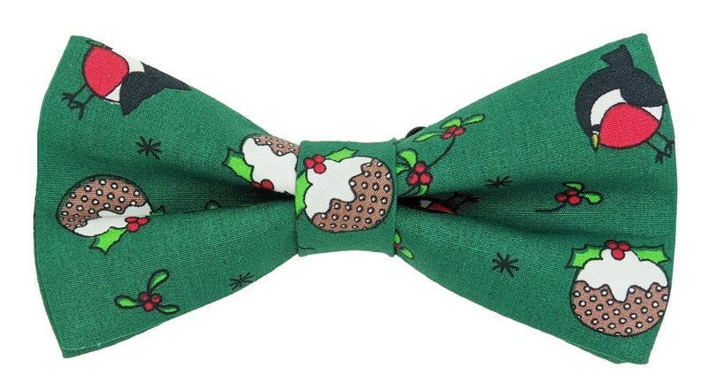 Round Robin Christmas Ready-Tied Bow Tie - Bow Ties - - ThreadPepper