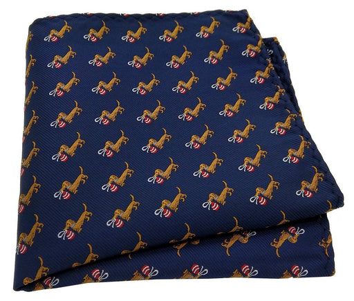 Santa's Little Helper Pocket Square - Handkerchiefs - - ThreadPepper