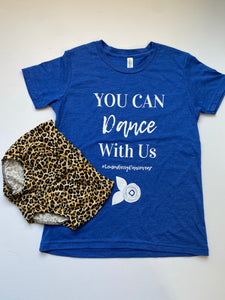 You can dance with Us - Royal Bright Blue CHILD SIZE