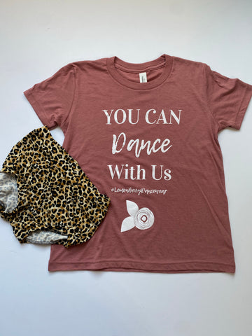 You can dance with Us - Blush Mauve CHILD SIZE