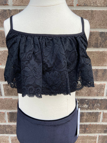 Black Lace Cami-adult OS