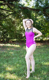 Deep Magenta - Lillian Leotard