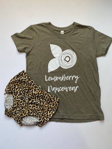 LemonBerry Dancewear - Olive CHILD SIZE