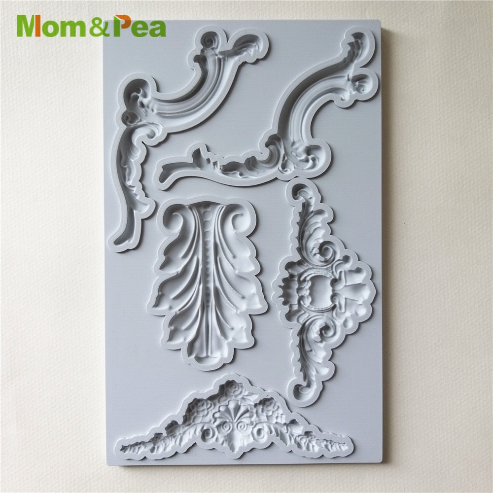 Deco Shaped Silicone Mould