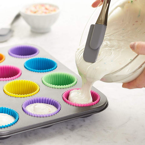 Silicone Cupcake Moulds