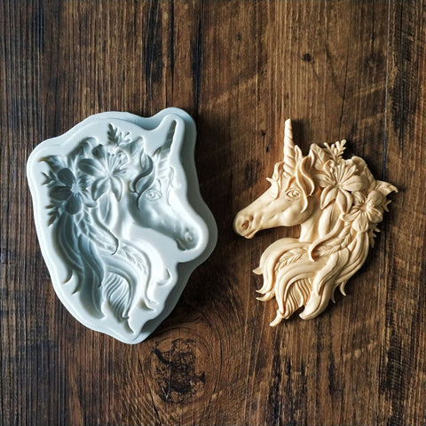 Unicorn Horse Head Mould