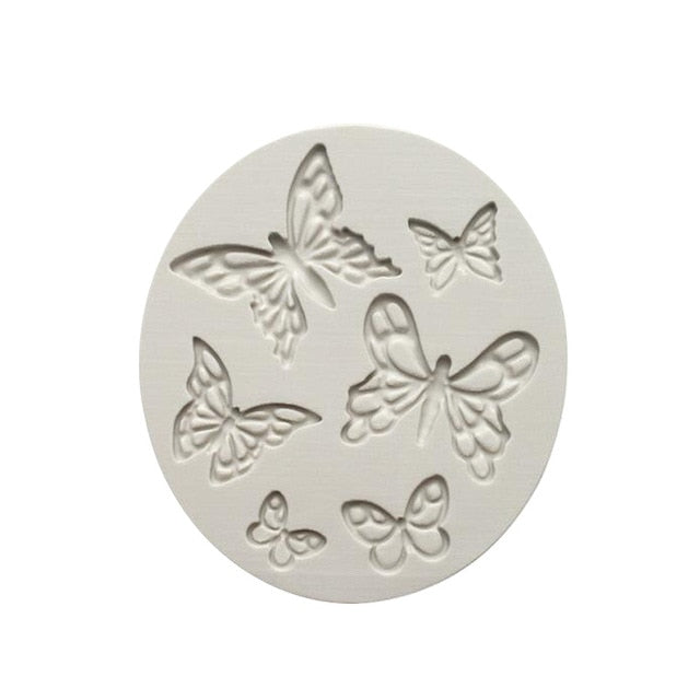 Bird, Butterfly & Roses Mould