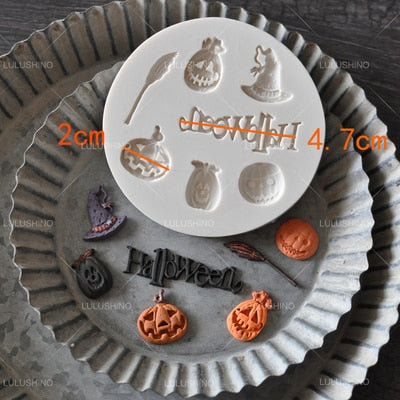 Halloween Silicone Moulds