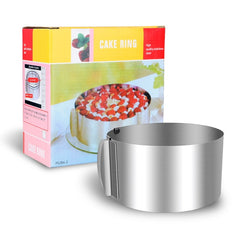Round Ring Cake Cutter 16-30 cm