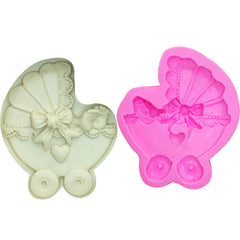 Baby Car Carriage Silicone Mould