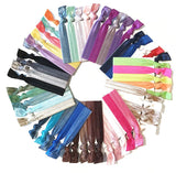Ink | Solid Colour Popband Hair Bands | Selection of Colours & Shades