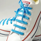 Bright Blue Poplaces | Shoe Laces | In-Shoe | Converse