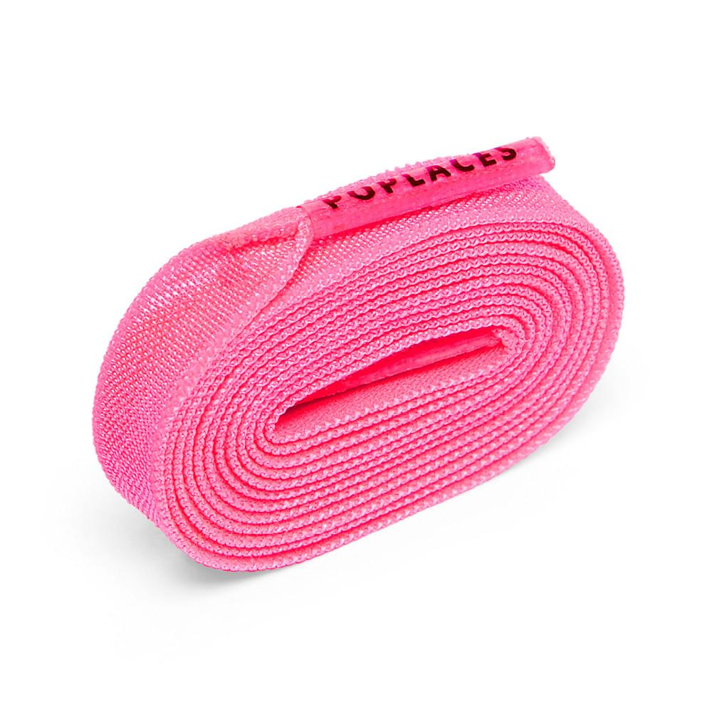 Neon Pink Poplaces | Shoe Laces