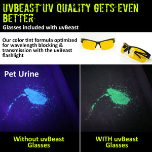 uvBeast UV Flashlight MIDI Version with 3 Modes