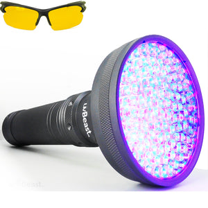 uvBeast UV Flashlight 100 LED VERSION 2