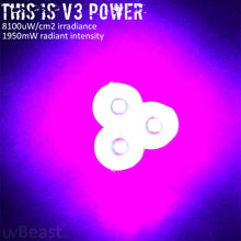 Load image into Gallery viewer, uvBeast Black Light UV Flashlight V3 385-390nm Rechargeable 18650 Battery POWER PACK EDITION