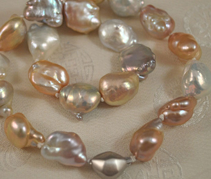 shaped aa natural pink baroque lavender image pearls pearl wholesale grade product big irregular