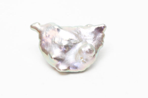 horned shield chinese freshwater pearl