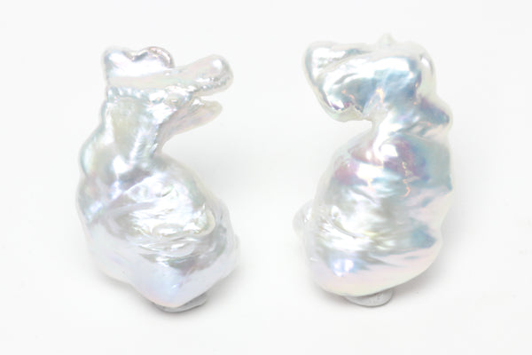 age of pisces chinese freshwater pearl pair
