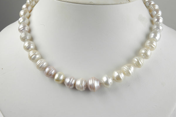 Japan Kasumi circled pearl necklace