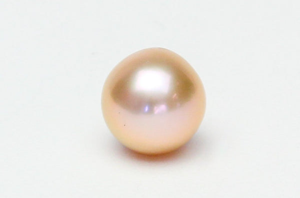 perfect peach Japan Kasumi semi-baroque pearl